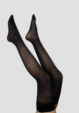 Bas Tient Seul Opaque 50D Noir