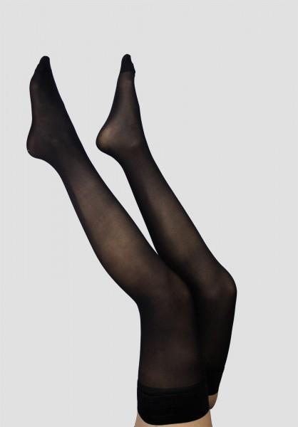 Bas Autofixant Opaque 50D Noir