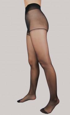 Collant Lycra x2 Noir 15D
