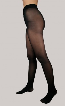 Collant Lycra Opaque Activ' Noir 60D