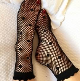 Socquettes pretty noir