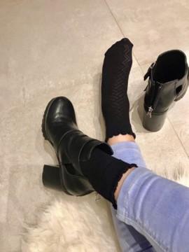 Socquettes bridget noir